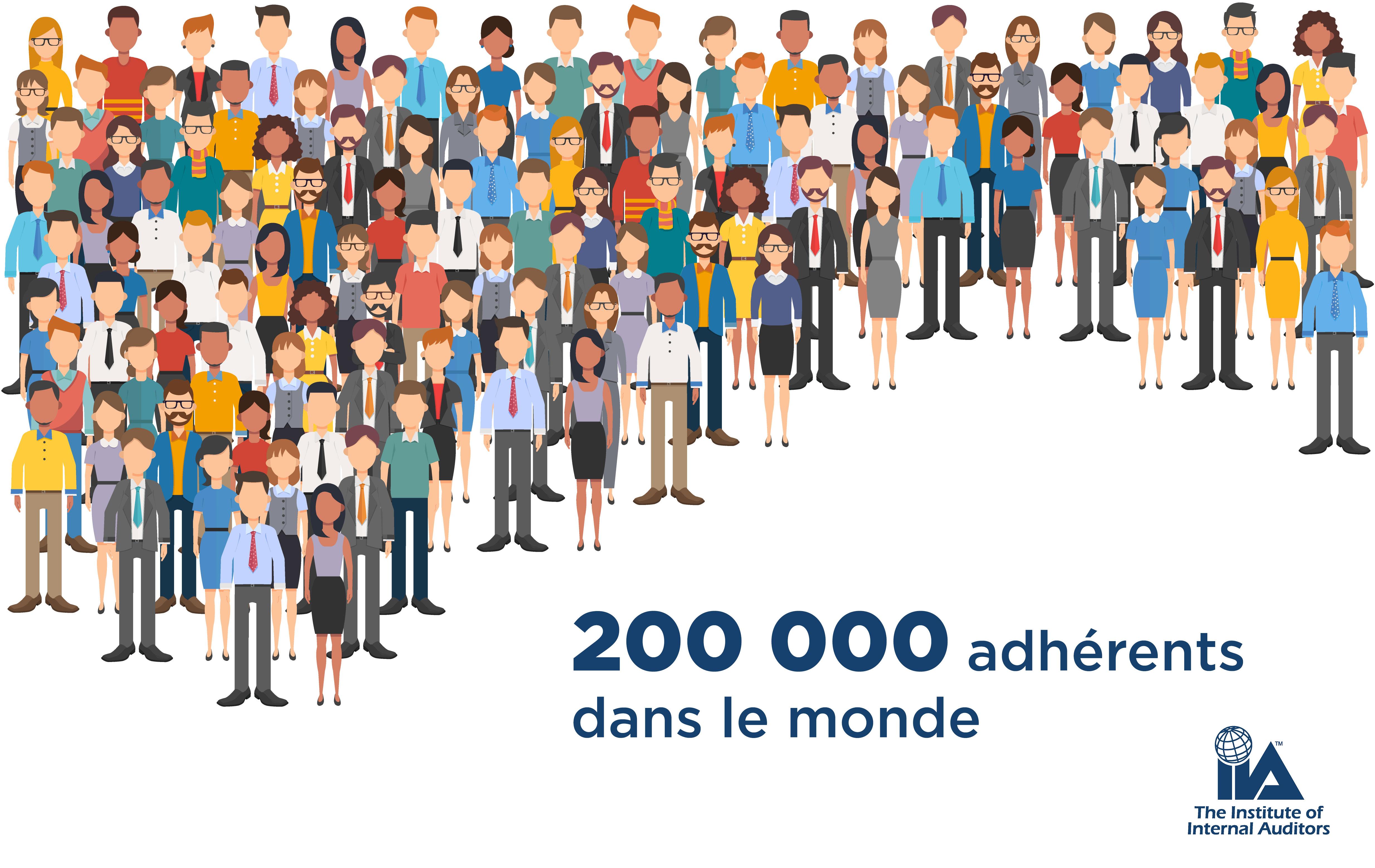 Plus de 200 000 membres IIA !