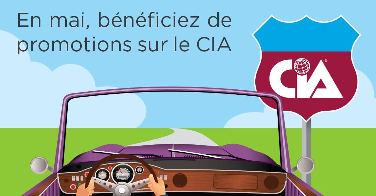 L'IIA vous fait bénéficier de promotions sur la certification CIA