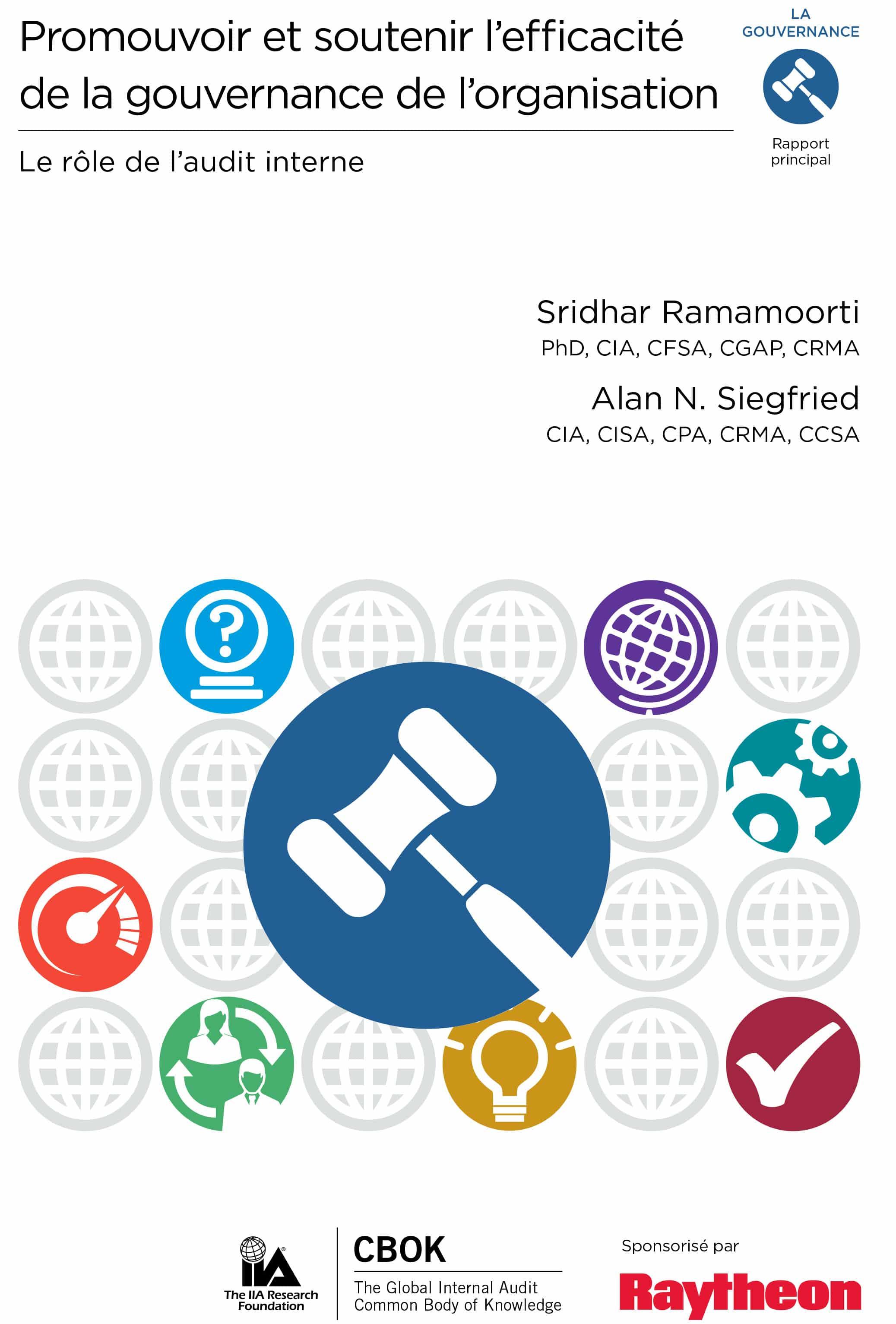 Promouvoir et soutenir l'efficacité de la gouvernance de l'organisation – Le rôle de l'audit interne