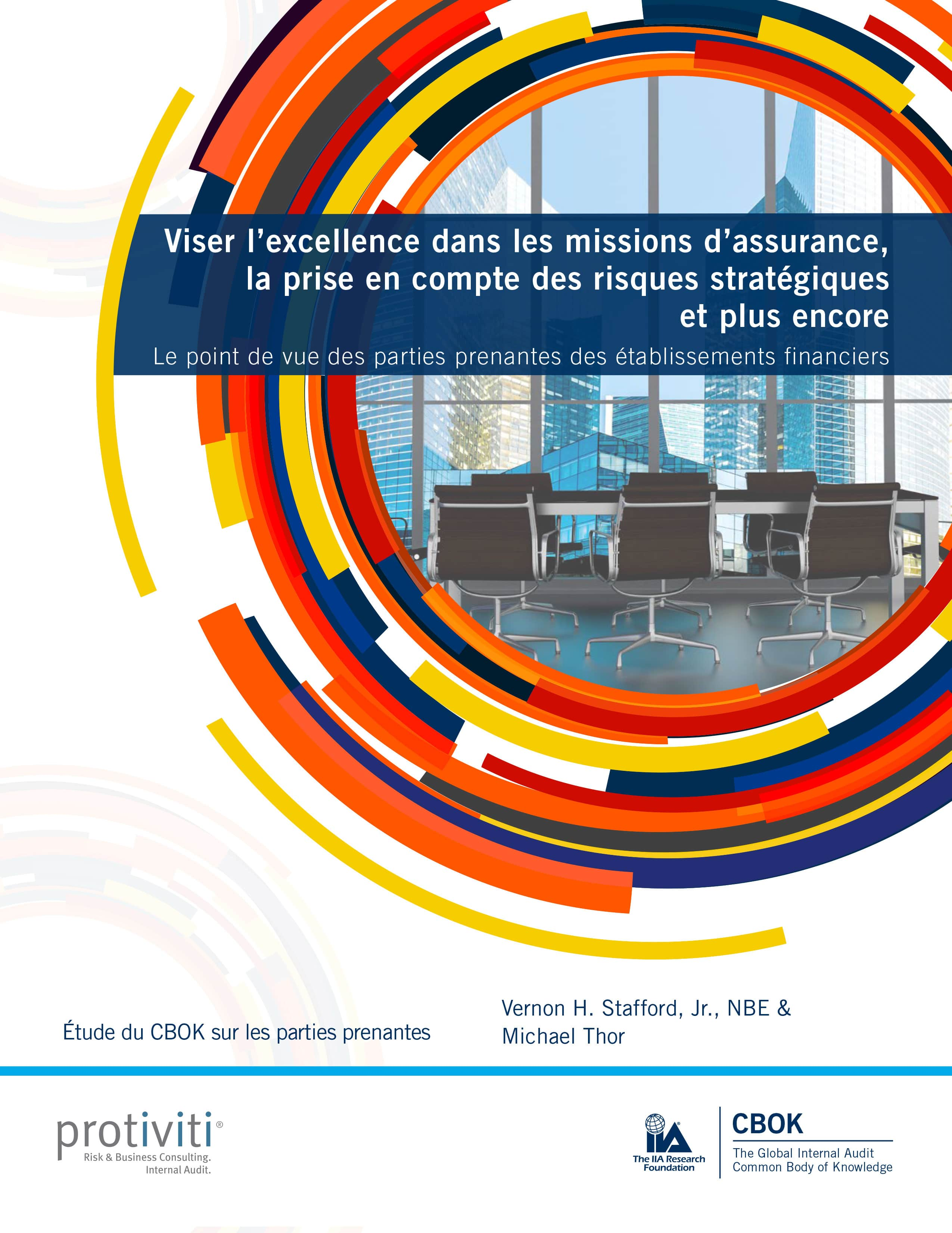 CBOK – Viser l'excellence dans les missions d'assurance, la prise en compte des risques stratégiques et plus encore – le point de vue des parties prenantes des établissements financiers