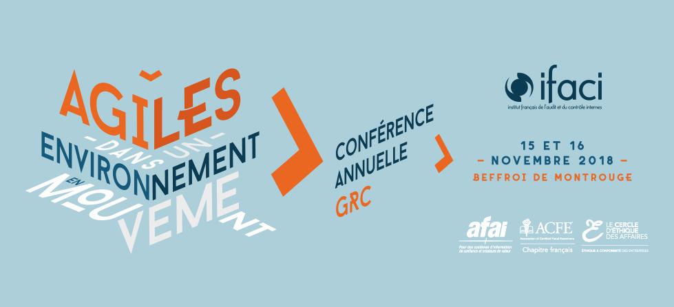 Save the date : Conférence IFACI 2018 les 15 et 16 novembre