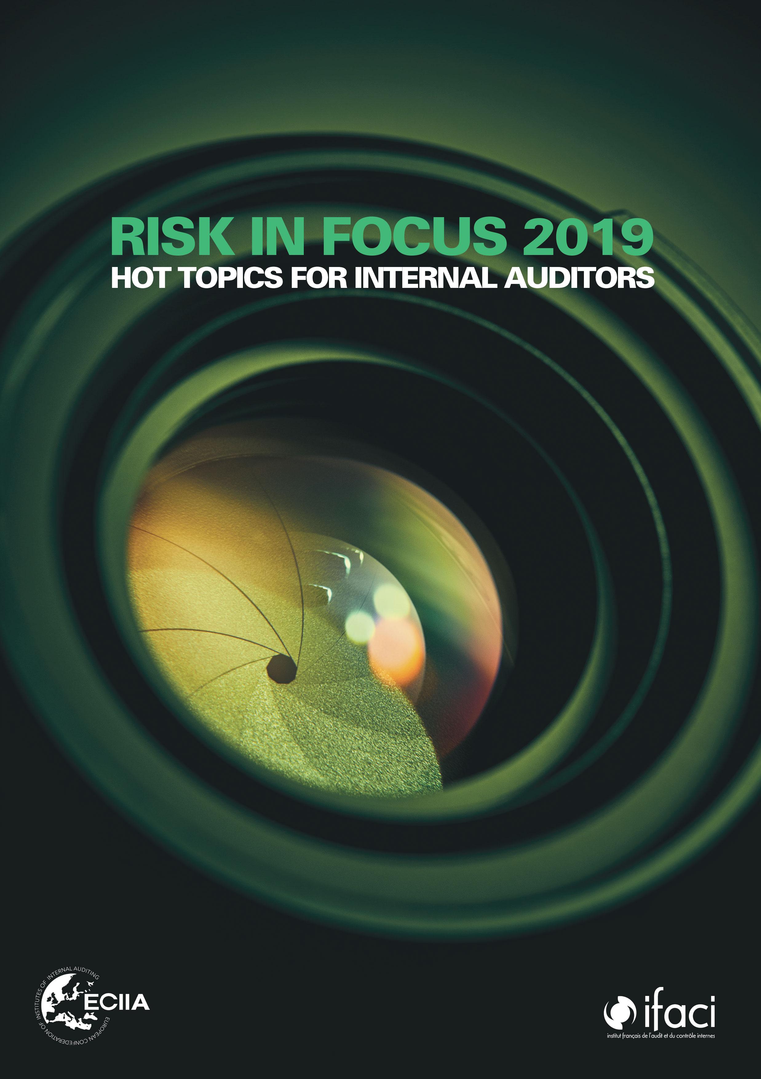 Les résultats de l'enquête Risk in Focus 2019 sont disponibles !