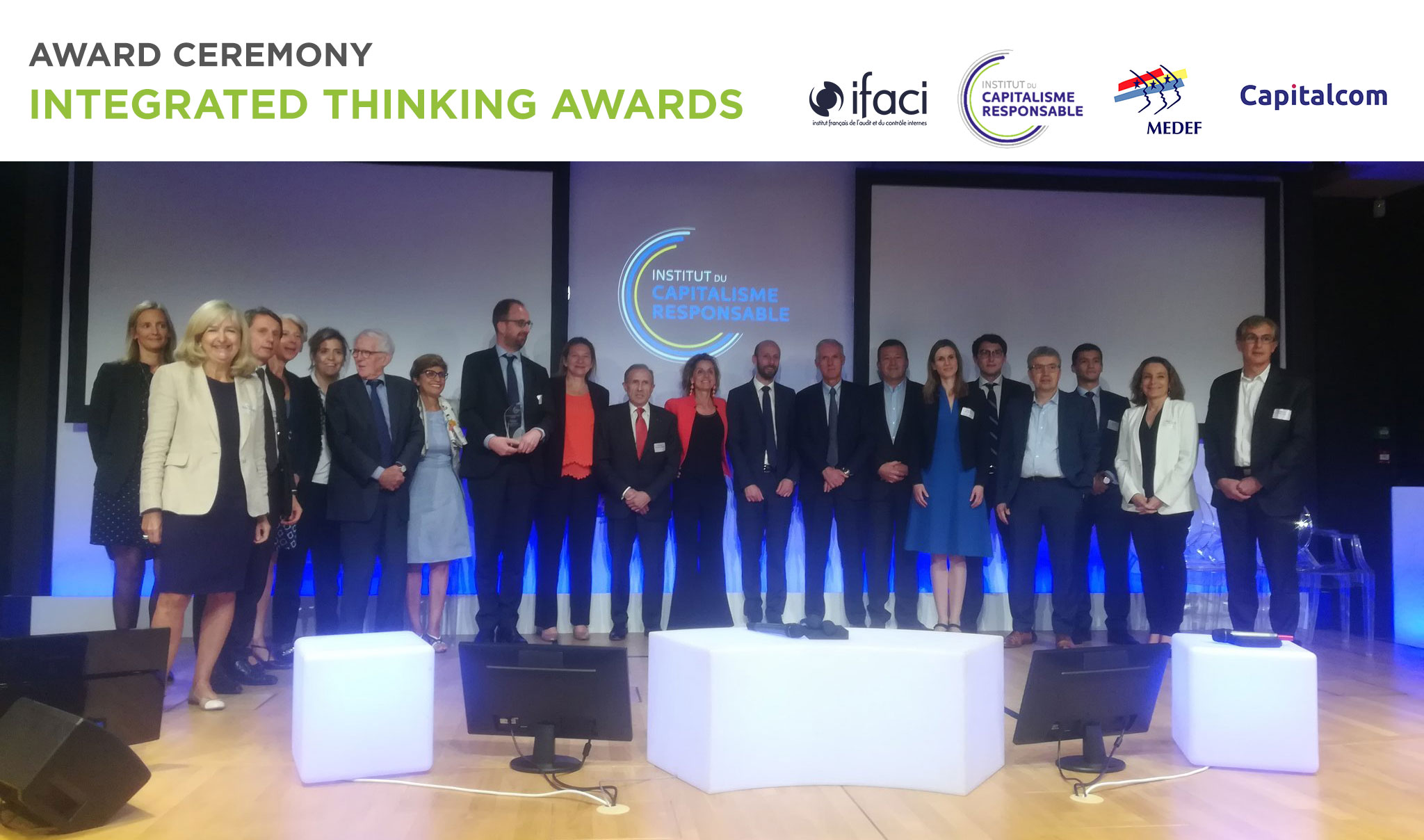 Cérémonie des Integrated Thinking Awards 2018